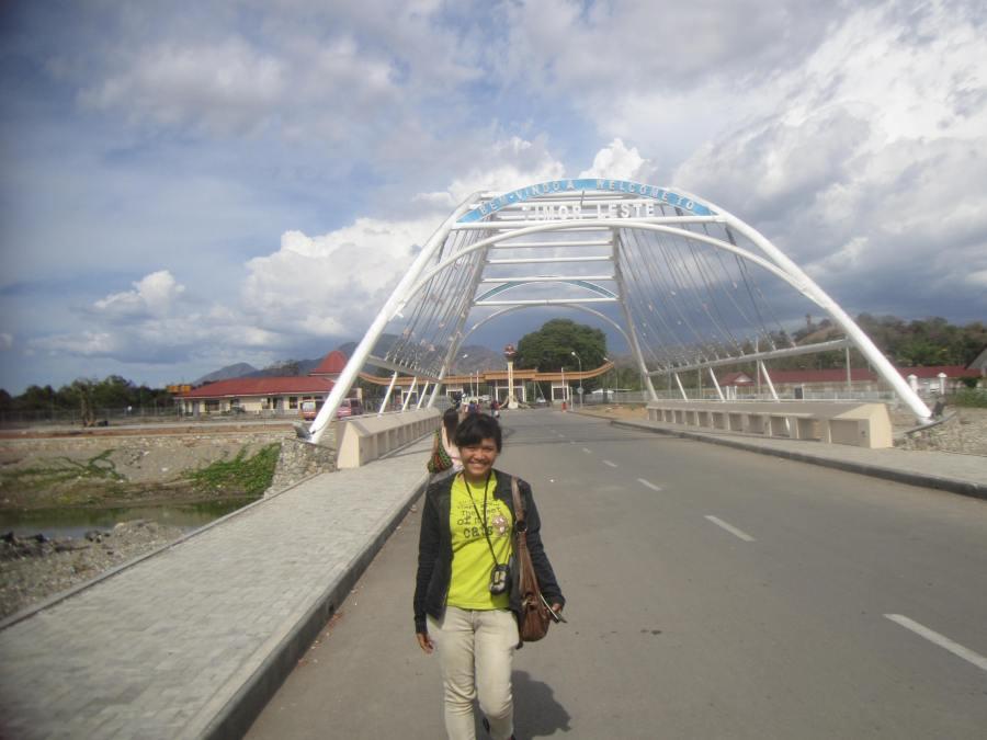 Gerbang Selamat Datang di Timor Leste