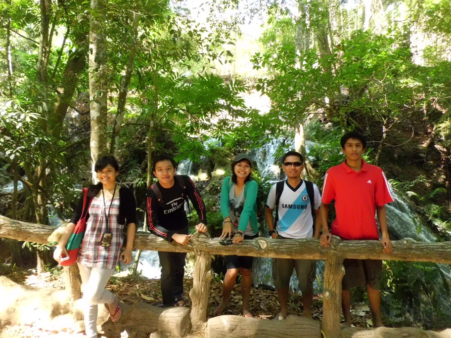 My Team in Oehala Waterfall