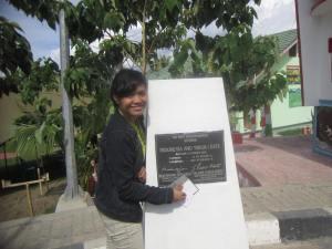 Winny di Perbatasan Wilayah Indonesia-Timor Leste