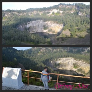 black lake kelimutu