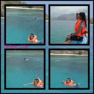 snorkeling di riung