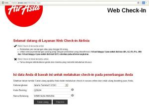 Web Chek in
