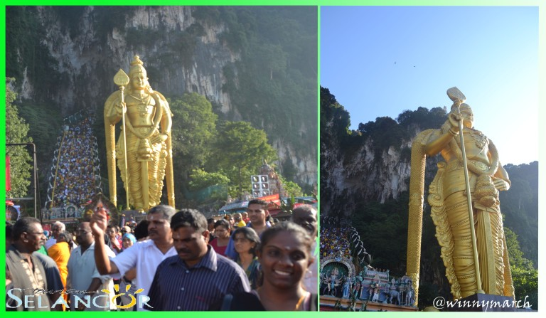 Patung Dewa Murugan
