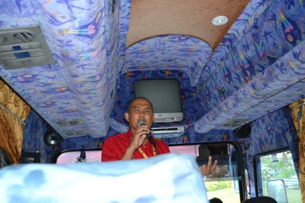 Mr.Safri, our Tourguide