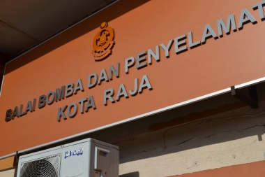 Papan Nama Klang Fire Station