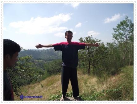 Yayat di Gunung Kupang
