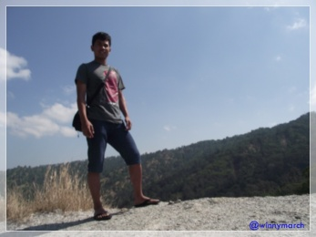 Suparman di Gunung Uang Kupang
