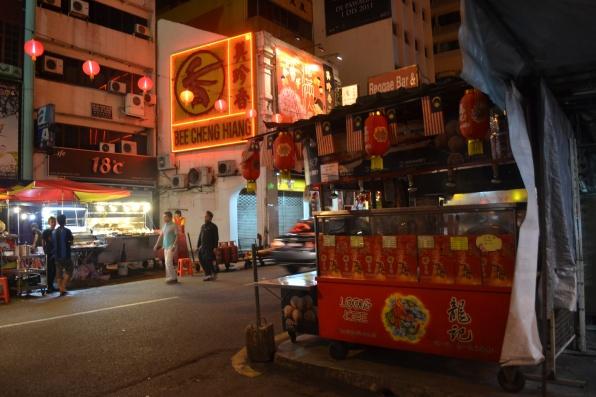 Salah Satu Stand di Petaling Street