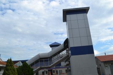 Salah satu Tower Penumpang di Stasiun Klang