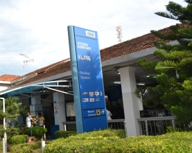 Papan Keterangan Stasiun Klang