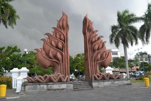 Pintu Masuk Tugu Pahlawan Surabaya