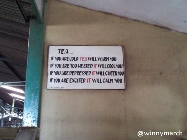 Tulisan Tentang Tea