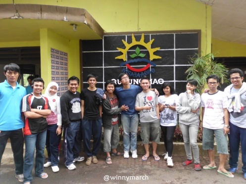 Anak MT Gama Group di Agrowisata Gunung Mas Bogor