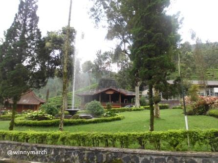 Pemanadngan di Agrowisata Gunung Mas