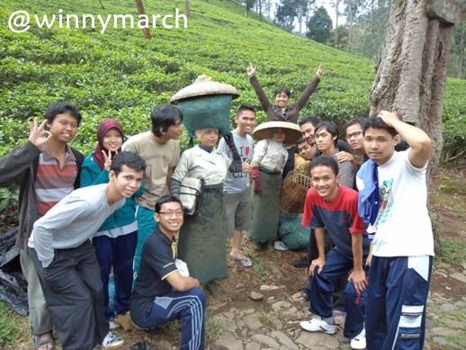 Keceriaan MT Gama Group di Bogor