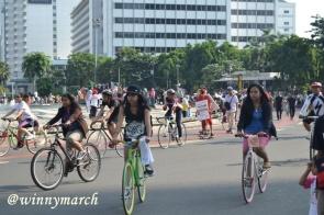 Bersepeda di Thamrin