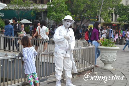 Patung Hidup Jakarta