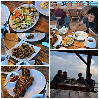 Menu Makan di Tengah Laut