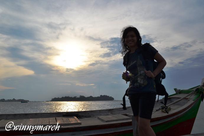 Sunset di Pulau Seribu