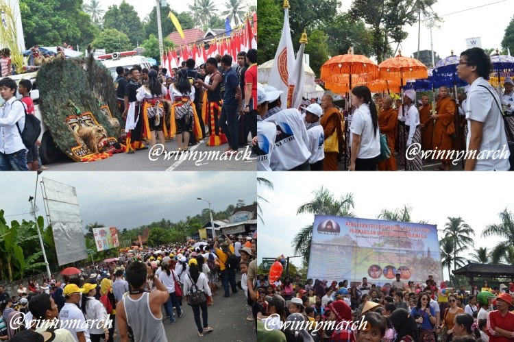 Dari Candi Mendut ke Candi Borobudur