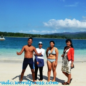 Pasir Putih Pulau Peucang