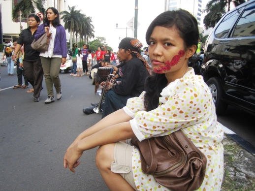 Aku di Karnaval Jakarta