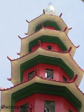Menara Masjid Cheng Ho Palembang