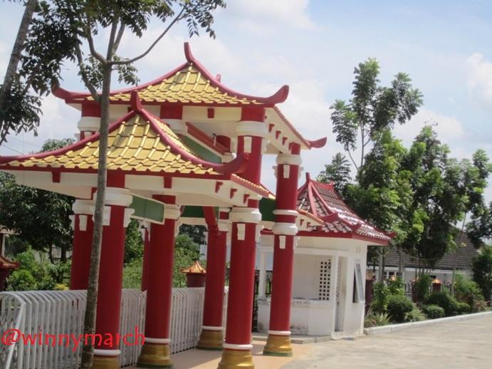 Pintu Masuk Masjid Muhammad Cheng Hoo Palembang
