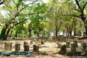 Puing sejarah di pulau Onrust