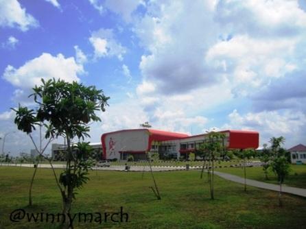 Stadion Gelora Sriwijaya Jakabaring Sport Center Palembang