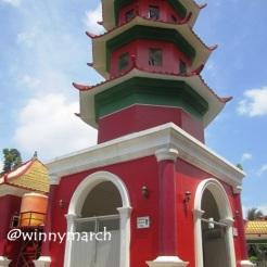 Pilar Masjid Cheng Ho Palembang