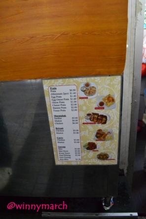 Daftar harga makanan di Singapura