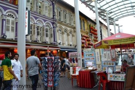 Pusat Belanja China Town Singapura