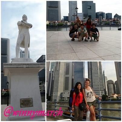Raffless Statue