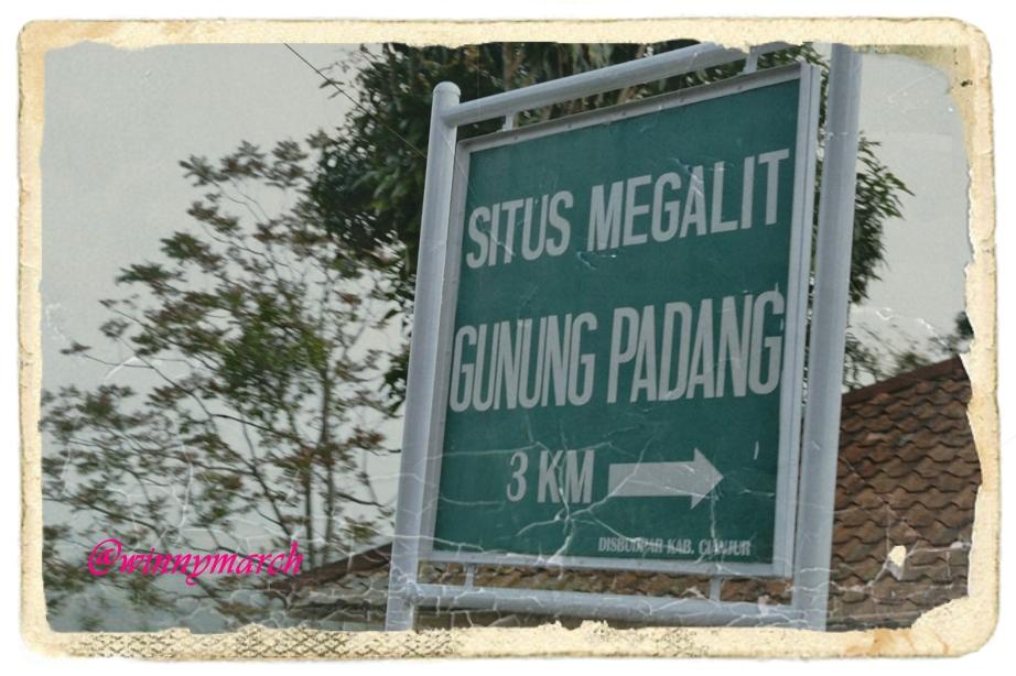 Situs Gunung Padang Megalitikum