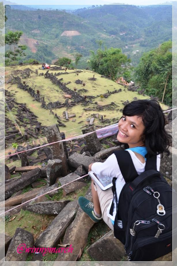 Aku di Situs Gunung Padang