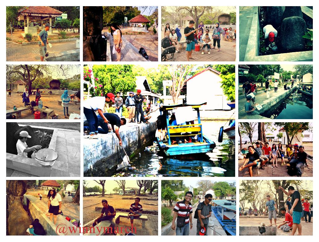 Bakti sosial di Pulau Onrust