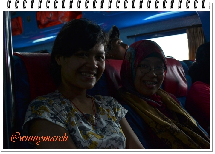 Aku dan Zahra menuju Karimun Jawa