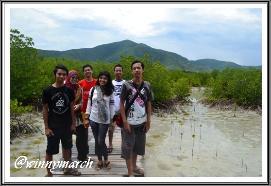 Me and Backpackers on Karimun Jawa