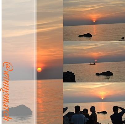 sunset di Tanjung Gelam