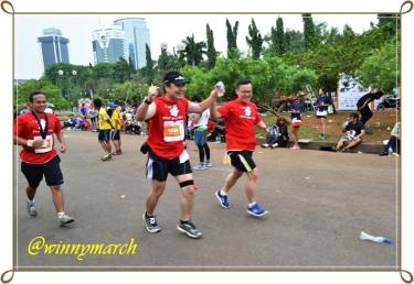 Peserta Jakarta Marathon