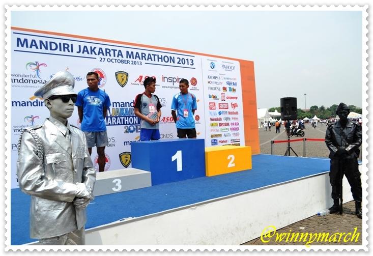 Sang Juara Jakarta Marathon