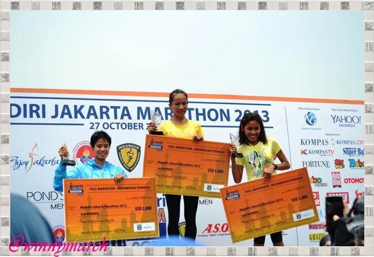 Juara Putri Jakarta International Marathon