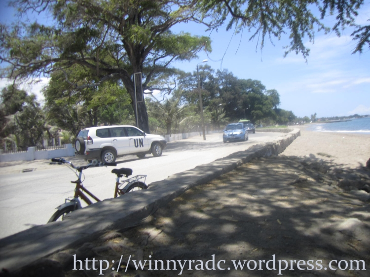 Kendaraan UN di Timor Leste