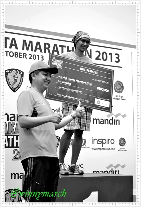 Winner Jakarta International Marathon