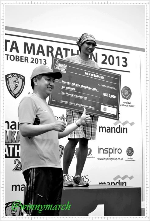 Winner Jakarta International Marathon