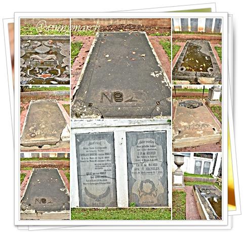 Makam dengan Lambang heraldik