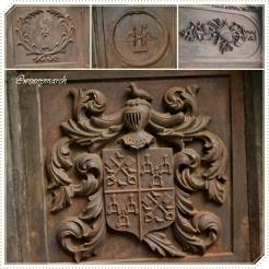 Lambang Heraldik di Museum Prasasti