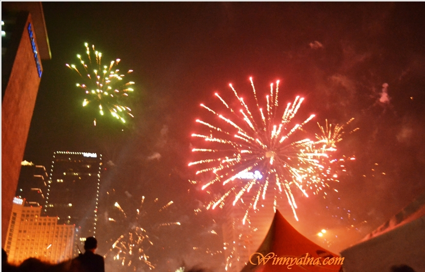 New Year 2014 in Indonesia