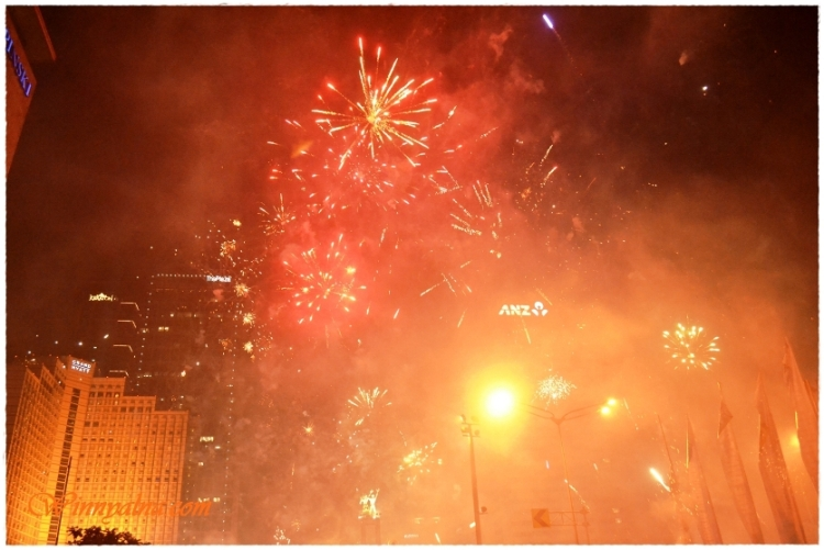 New Year in Indonesia